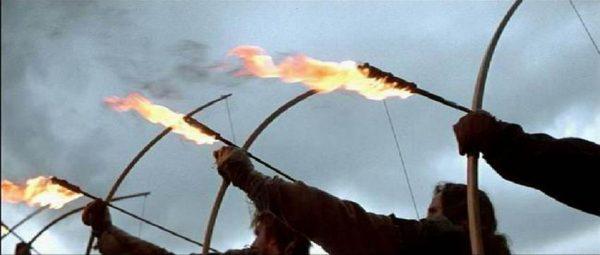 تیرهای آتشین (Flaming Arrows)