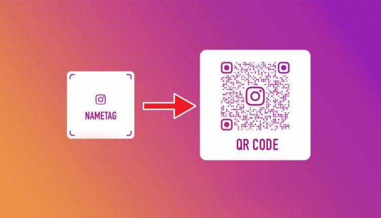 کد QR برای دعوت کاربران به صفحه اینستاگرام