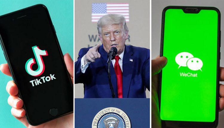 مهلت 45 روزه ترامپ به اپلیکیشنهای TikTok و WeChat