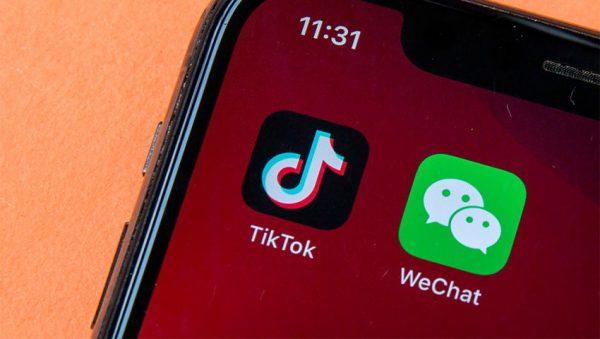 TikTok و WeChat