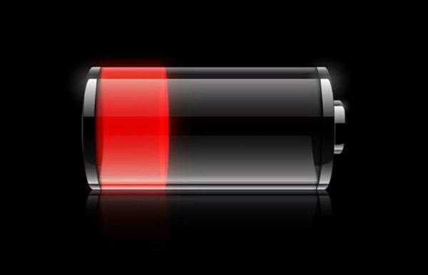 باتری به سرعت تخلیه میشود