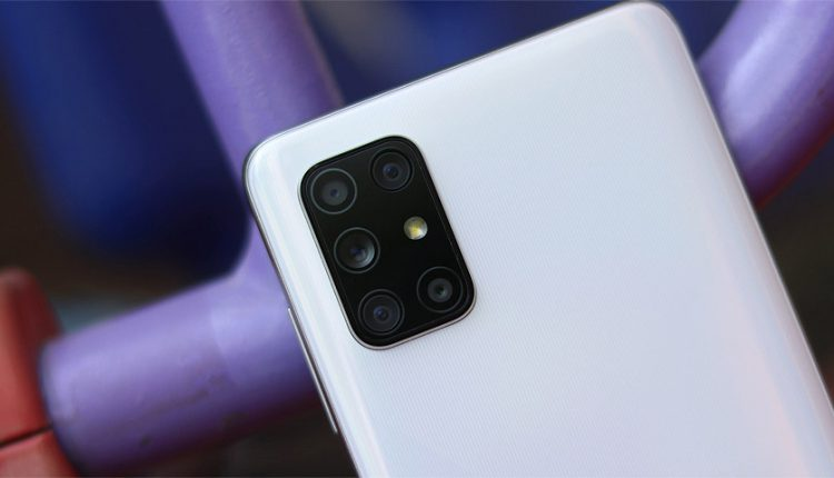 گلکسی ای 72، اولین گوشی سامسونگ با دوربین پنجگانه