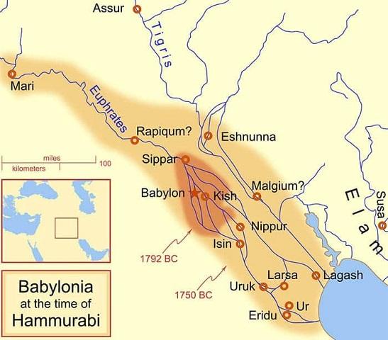 قلمرو حمورابی
