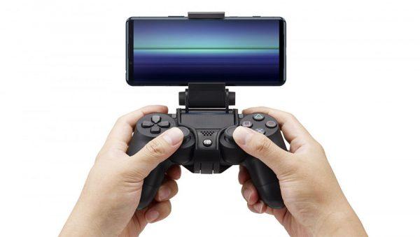 پشتیبانی از کنترلر PS4 توسط اکسپریا 5 مارک 2