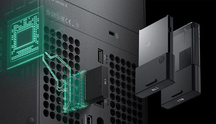 SSD یک ترابایتی مخصوص ایکس باکس سری ایکس