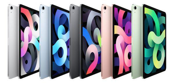 رنگبندی آیپد ایر جدید اپل