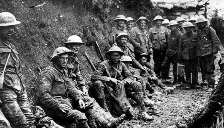 10 بیماری شایع در جنگ جهانی اول