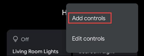 Add Controls