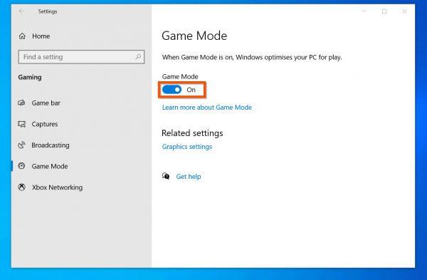 چگونه حالت بازی (Game Mode) را در ویندوز 10 فعال کنیم؟
