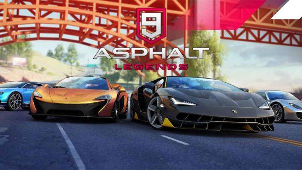 بازی Asphalt 9 Legends