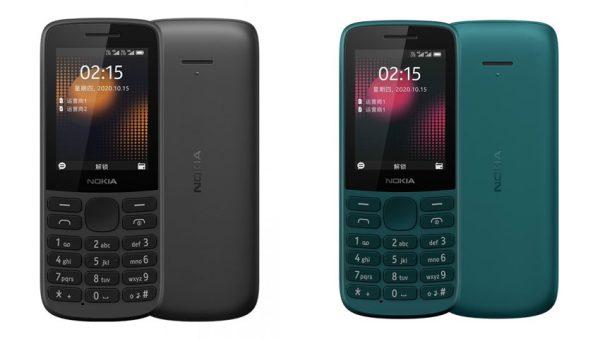 نوکیا 225 4G و نوکیا 215 4G