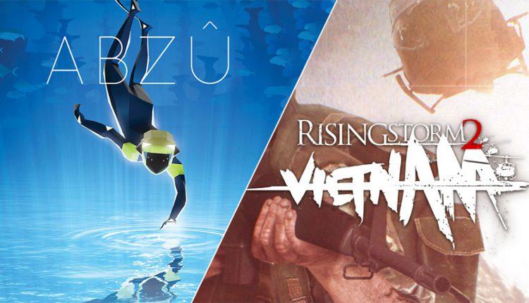 بازی های ABZU و Rising Storm 2: Vietnam