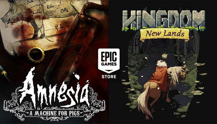 Amnesia: A Machine for Pigs و Kingdom New Lands