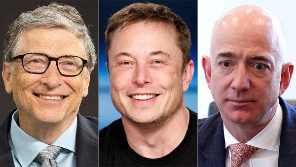 ثروتمندترین افراد جهان