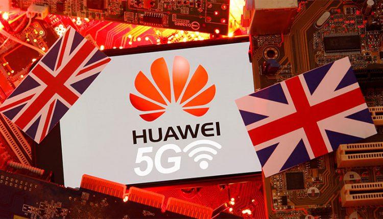 ممنوعیت تجهیزات 5G هواوی در انگلیس