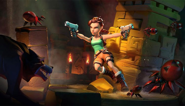 بازی موبایلی Tomb Raider Reloaded