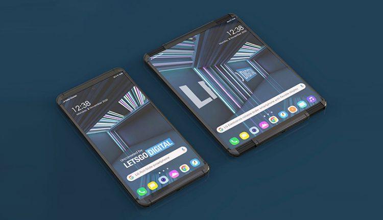 گوشی رول شونده ال جی با نام LG Rollable