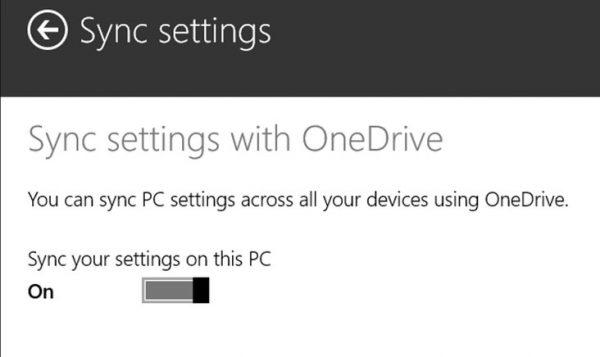 غیرفعال کردن OneDrive در ویندوز 8.1