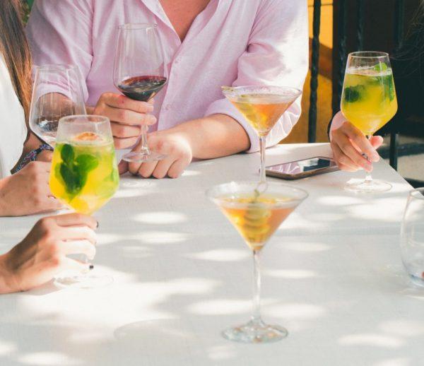 بیشترین میزان مصرف شراب
