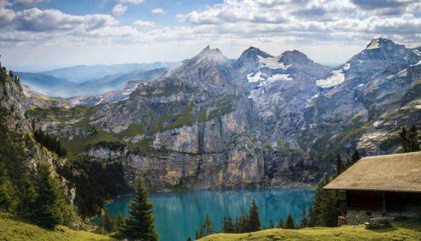 سوئیس با بیشترین و بلندترین قله کوههای اروپا