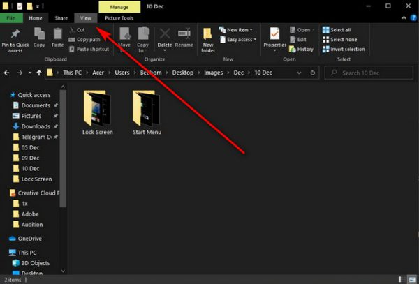 حذف تبلیغات از جستجوگر فایل1