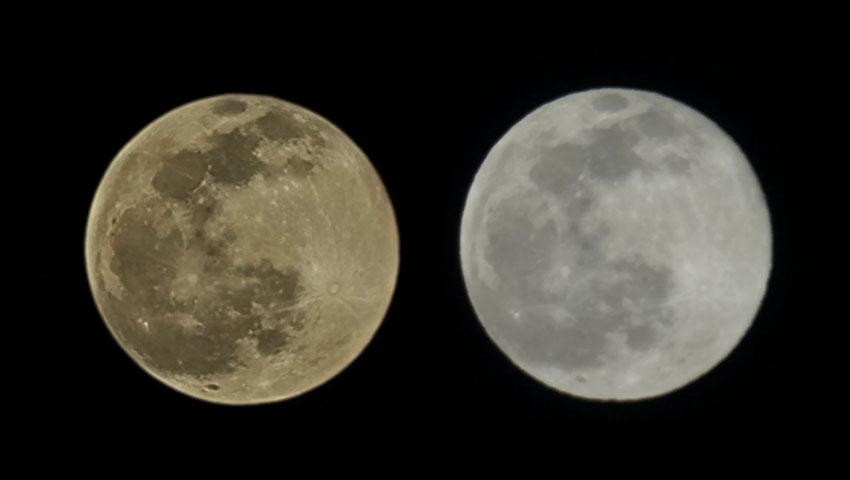 عکاسی گلکسی اس 21 اولترا از ماه