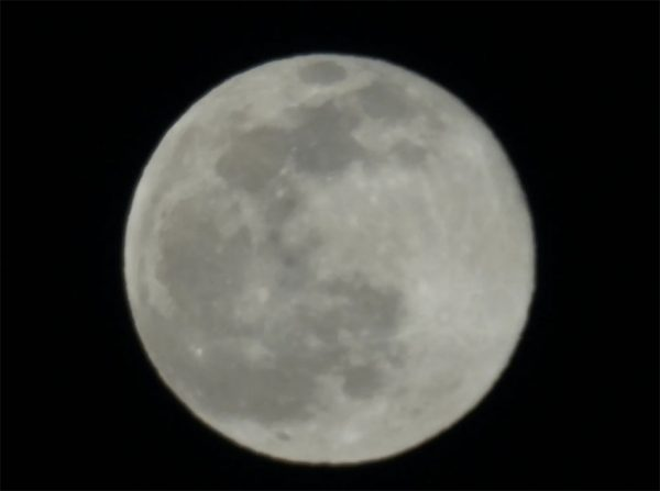 عکس ماه دوربین سونی