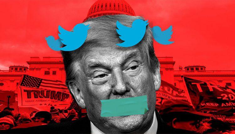 توییتر حساب دونالد ترامپ را مسدود میکند؟