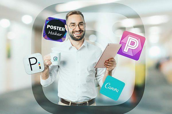 بهترین اپلیکیشنها برای طراحی پوسترهای تبلیغاتی در اینستاگرام