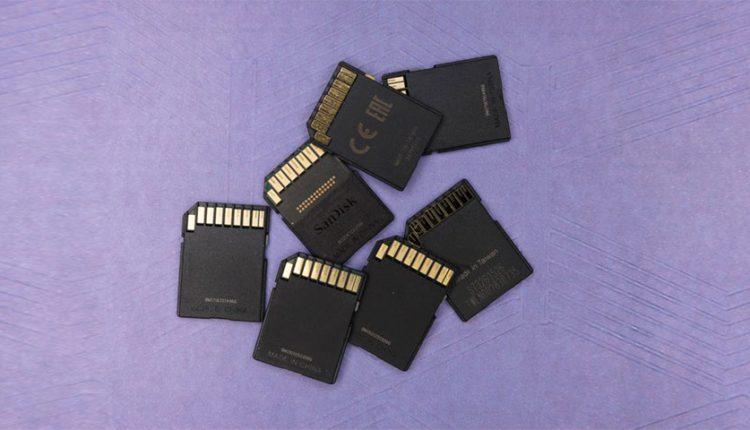 تست سرعت و ظرفیت کارت های حافظه