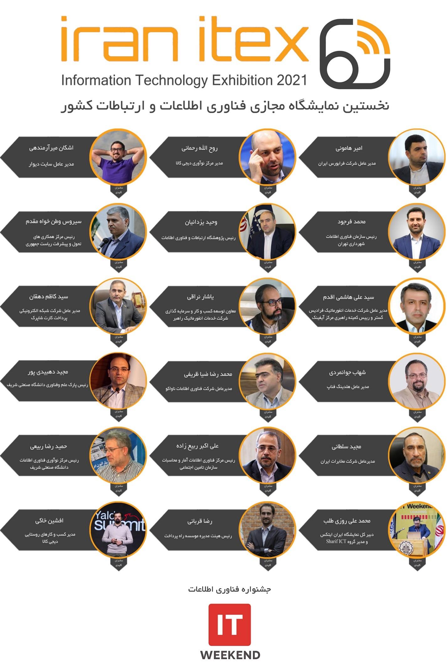 هشتمین جشنواره فناوری اطلاعات ایران به صورت مجازی برگزار