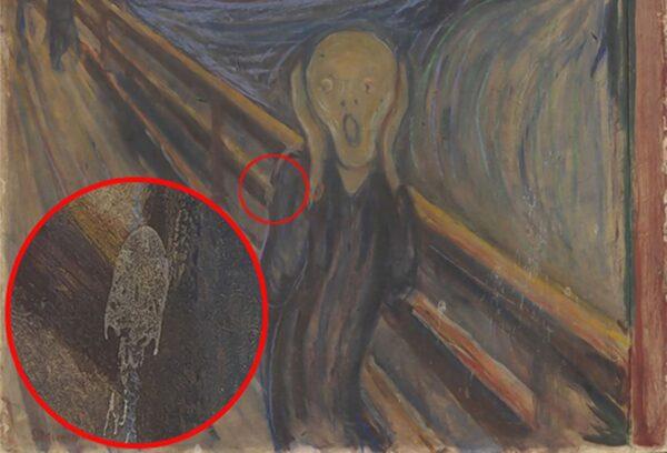 لکه سفید نقاشی مونک