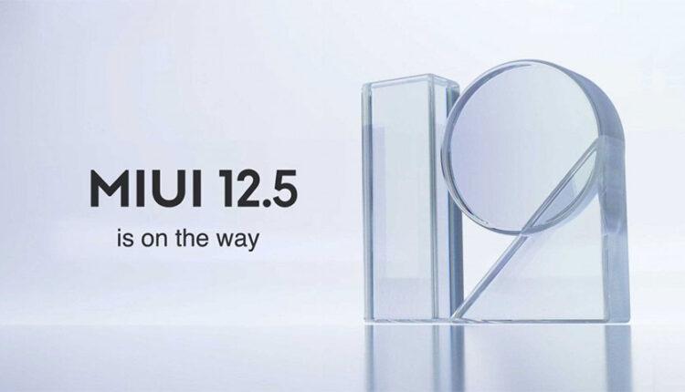 نسخه جهانی MIUI 12.5