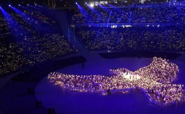 افتتاحیه المپیک زمستانی 2018