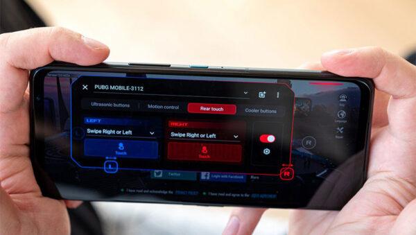 صفحه نمایش راگ فون 5 آلتیمیت