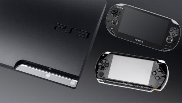 کنسول های PS Vita ،PSP و PS3