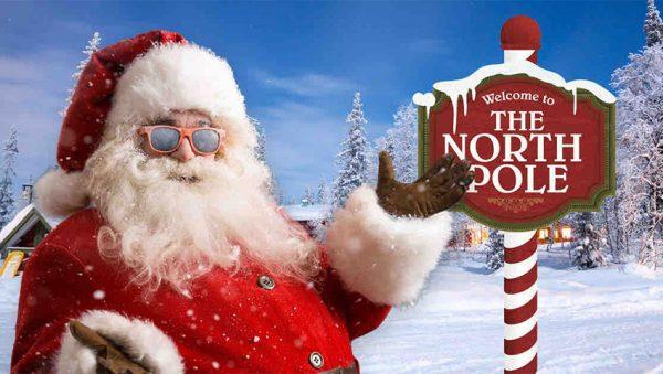 بابانوئل در قطب شمال