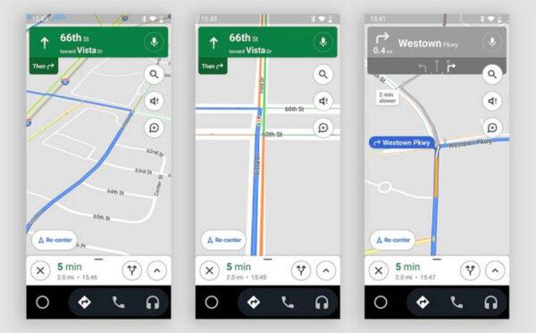 سرویس مسیریابی گوگل مپ