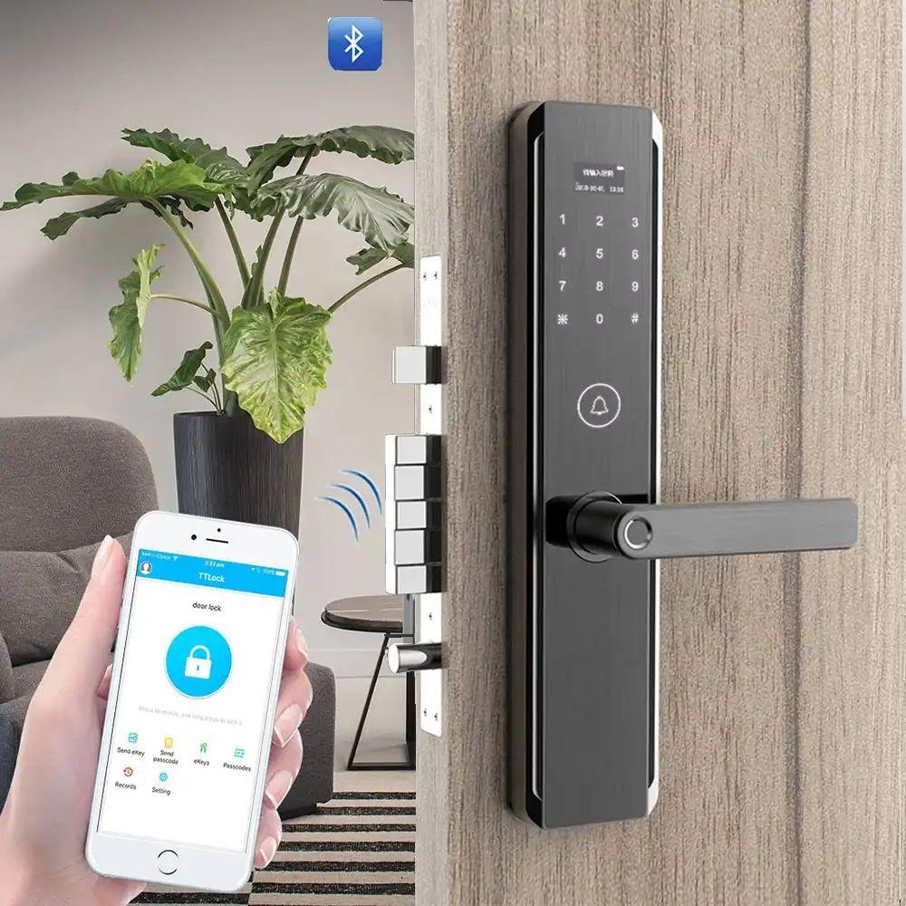 قابلیت اتصال قفل دیجیتال به گوشی هوشمند