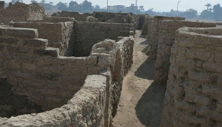 شهر باستانی 3400 ساله در مصر