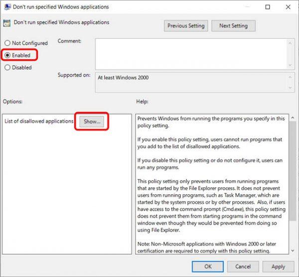 آموزش قفل کردن برنامه ها در ویندوز 10 4