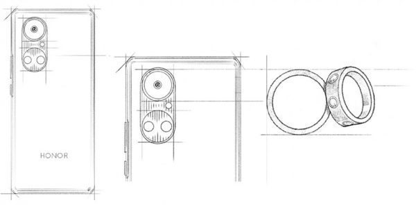 طرح اولیه دوربین آنر 50