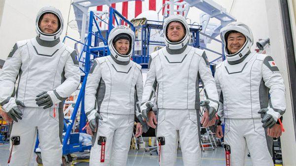 چهار فضانورد اسپیس ایکس