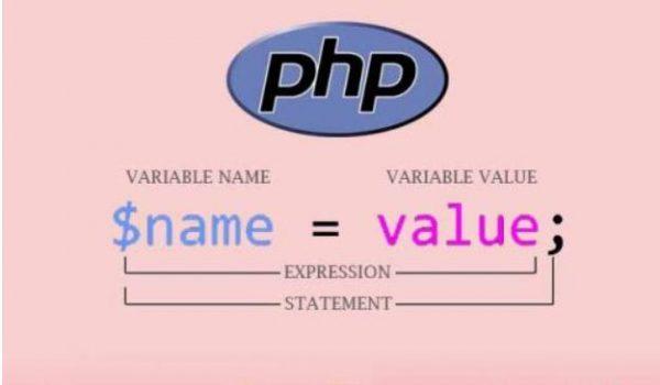 معرفی variable ها در زبان پی اچ پی