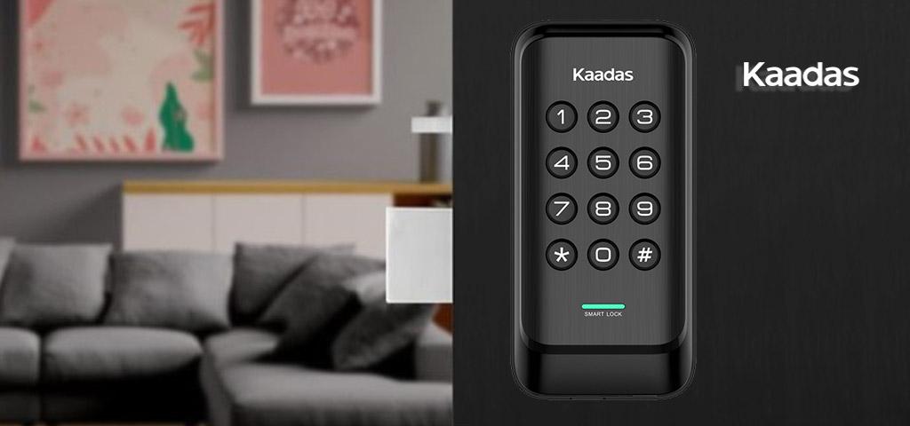 قفل دیجیتال رمزی درب ضد سرقت