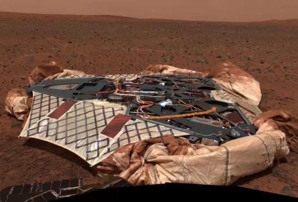 مریخ نورد 4