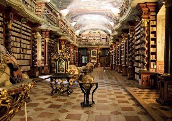 کتابخانه پراگ