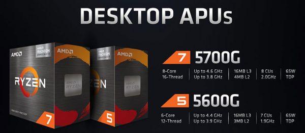 تراشههای دسکتاپ جدید AMD
