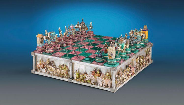 گران ترین شطرنج های جهان