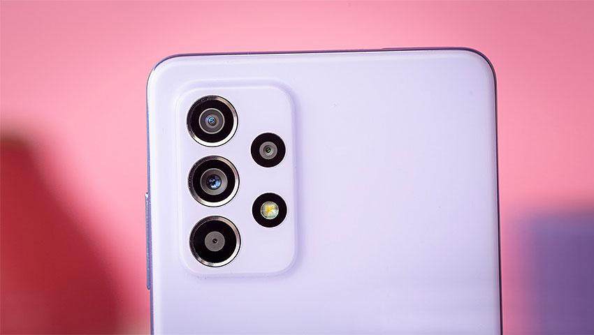 مشخصات دوربین گلکسی ام 52 فایو جی